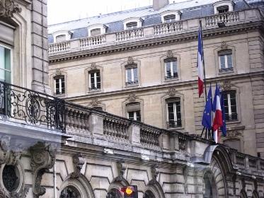 Public financial building Caisse des Depots, Quai Anatole France, Paris.