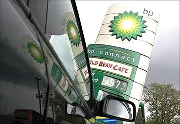 BP is ranked fourth behind ONGC.