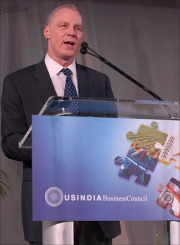 Ron Somers, president of the US-India Business Council.
