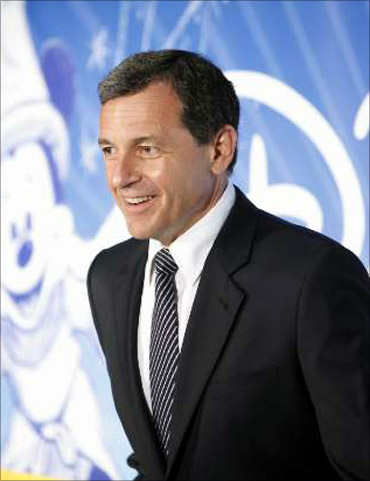 Robert A Iger received 13.5 million.