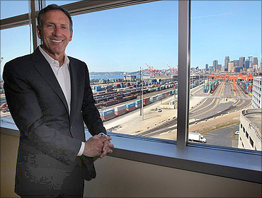Howard Schultz received $3.5 million.