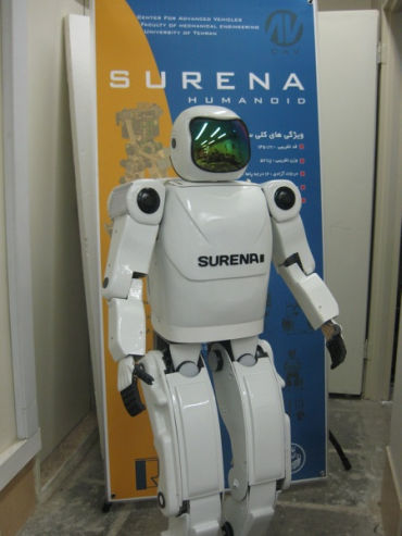 Surena 2 can dance.