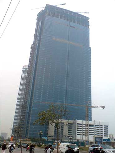 Keangnam Hanoi Landmark Tower.