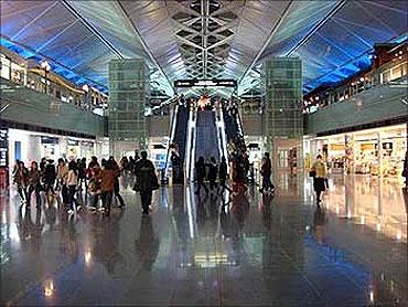 Nagoya International Airport.