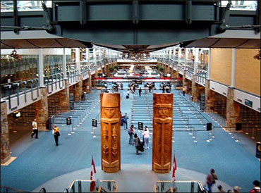 Vancouver International Airport.
