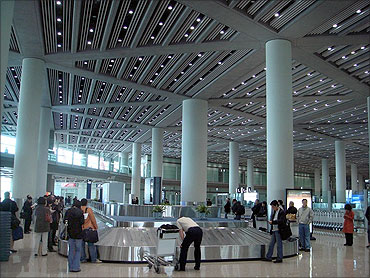 Beijing International Airport.