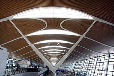 Shanghai Pudong International Airport.