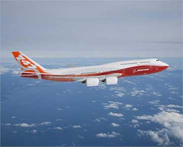 First PHOTOS: The stunning Boeing 747-8