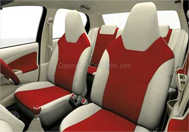 Etios seats.