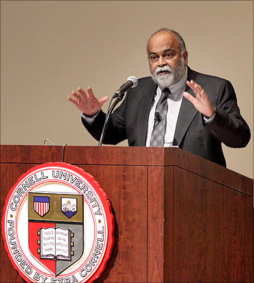 Prof Arjun Appadurai, Goddard Professor of Media, Culture, and Communication at New York University.