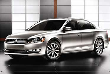 The stunning new Volkswagen Passat at Rs 23 lakh