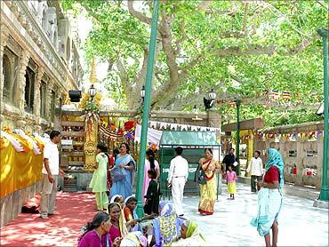 Bodh Gaya Temple.