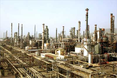 A Bharat Petroleum Corporation refinery.
