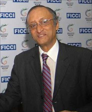 Bengal Industry and Finance Minister Amit Mitra.