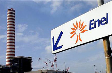 Enel is Italy's largest power company.