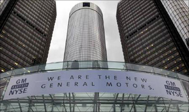 GM is world's second-largest car maker.