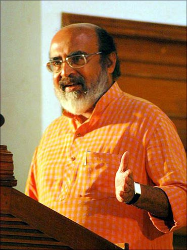 Kerala Finance Minister Dr Thomas Isaac.