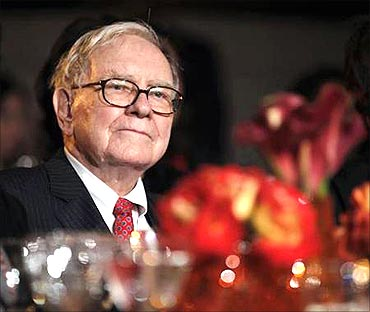 Warren Buffett says he enjoys what he does.