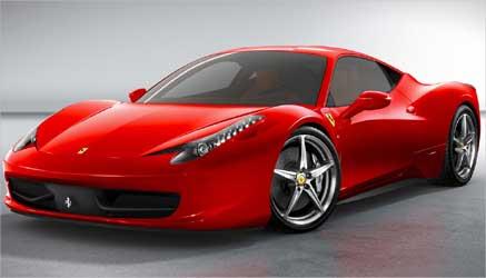 Ferrari 458 Italia.