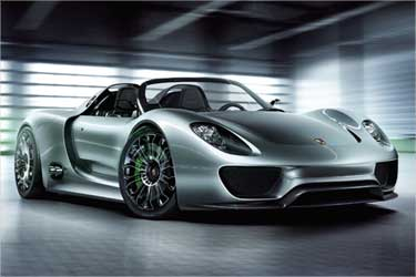 Porsche 918 Spyder.