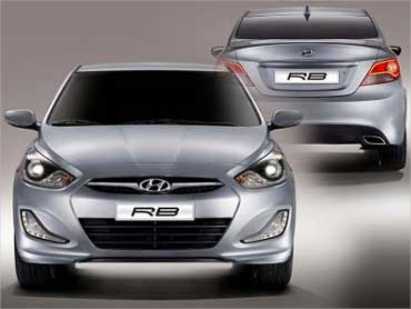 Hyundai RB Saloon.