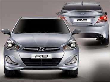 Hyundai RB Saloon.