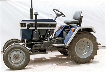 An low-cost tractor.