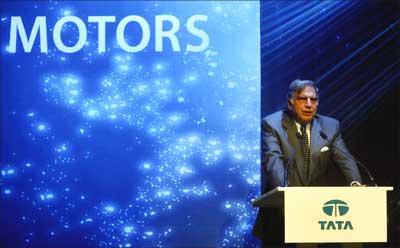 Tata Motors chairman Ratan Tata.