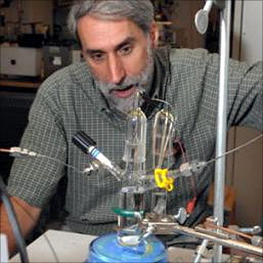 MIT scientist Daniel Nocera.
