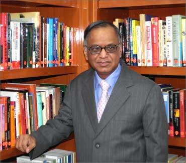 N R Narayani Murthy.