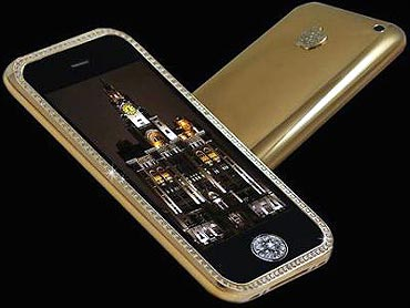 Goldstriker iPhone 3GS Supreme costs $3.2 million.