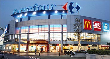 Carrefour has operations in 34 countries.