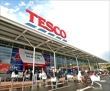 Tesco operates in 15 countries.