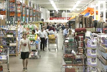 Costco operates in eight countries.