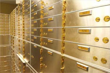 Looking for a locker? Banks aren't only option