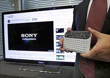 Sony Corp Sony's Internet TV built on Google's Android platform.