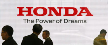 Honda has halted production.