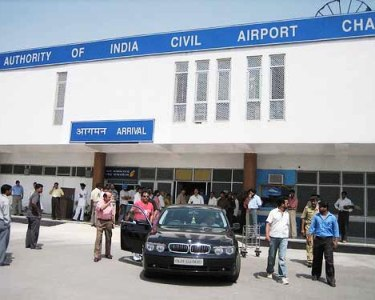 Chandigarh Airport.