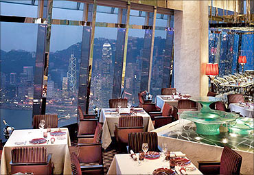 Ritz Carlton, Hong Kong.