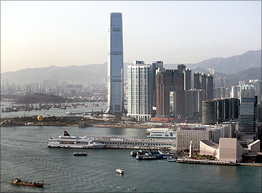 International Commerce Centre.