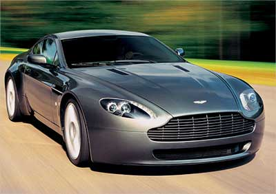 Aston Martin V8 Vantage.