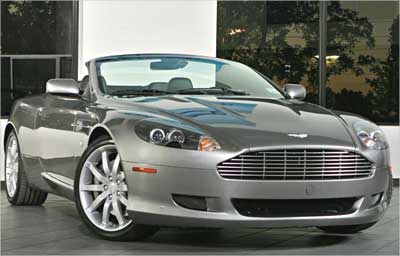 Aston Martin DB9.