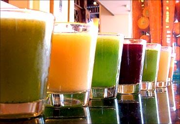 People prefer healthy drinks.