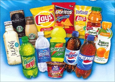 Pepsi's products.