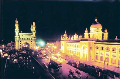 Hyderabad.