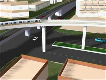 Hyderabad Metro Rail.