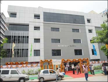 Hyderabad Metro Rail office.