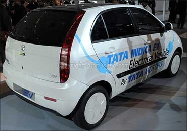 Tata's e-Indica to hit UK streets soon