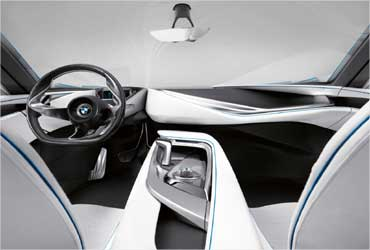 A peek into the stunning BMW Vision