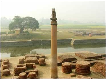 Ashoka Pillar.